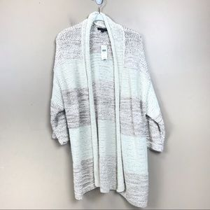 New with  tags banana republic open cardigan xl